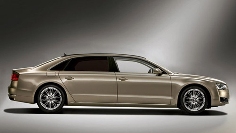 ArmorTech adds 400 mm to the wheelbase of the Audi A8