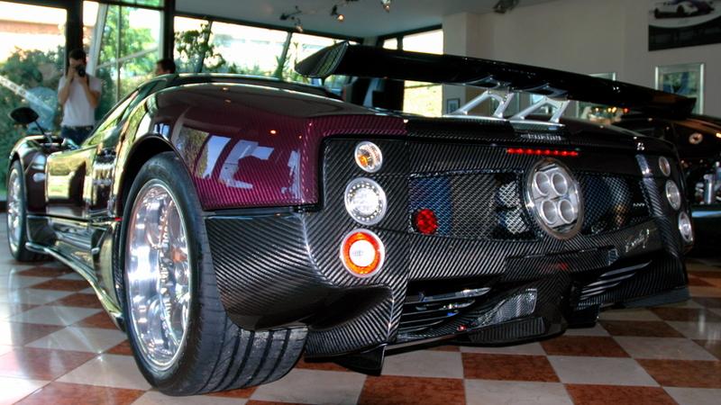 Pagani Zonda F Roadster Final