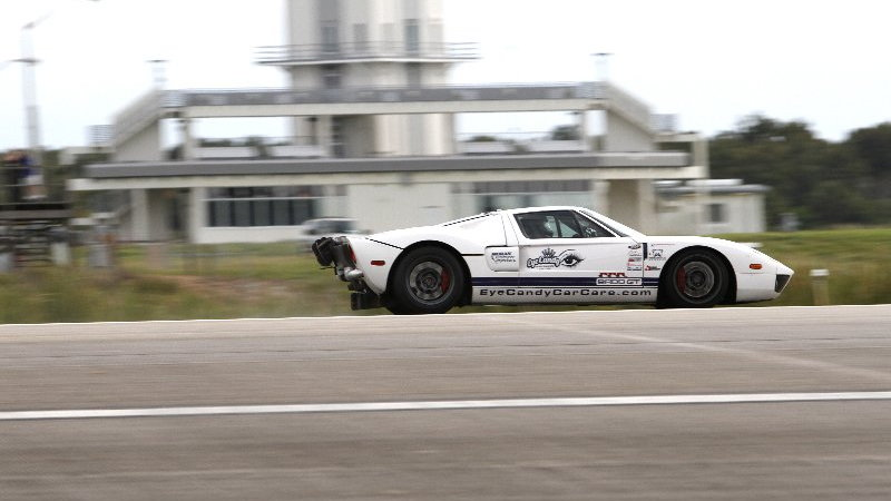 The Guinness World Record holding Performance Power Racing Ford GT - image: Performance Power Racing