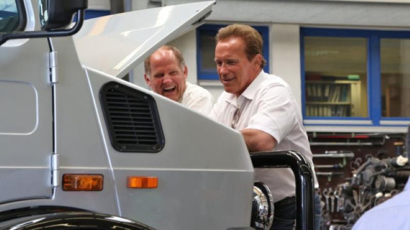 Arnold Schwarzenegger's 1977 Mercedes-Benz Unimog