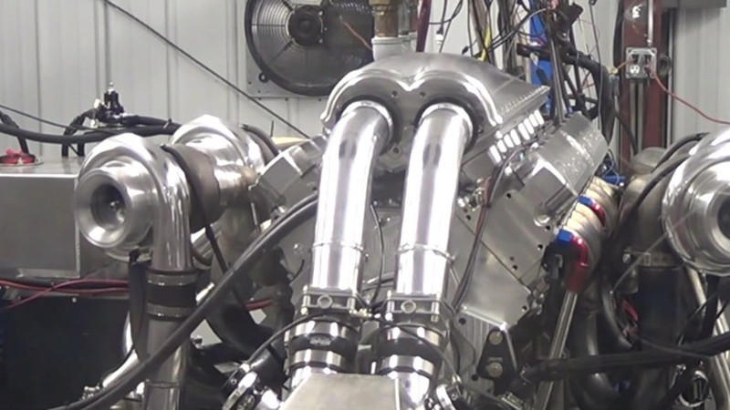 Devel's 12 3-Liter Quad-Turbo V-16 Dynoed At 4,515 Horsepower