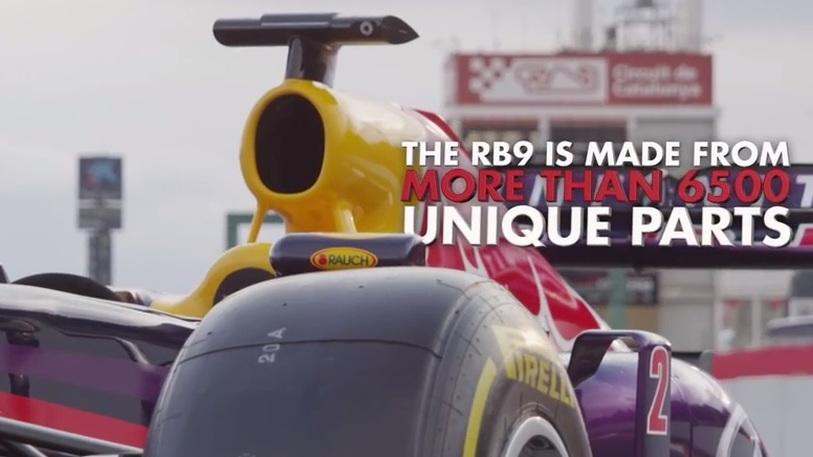 Part 3 of Infiniti Red Bull Racing's F1 car production series