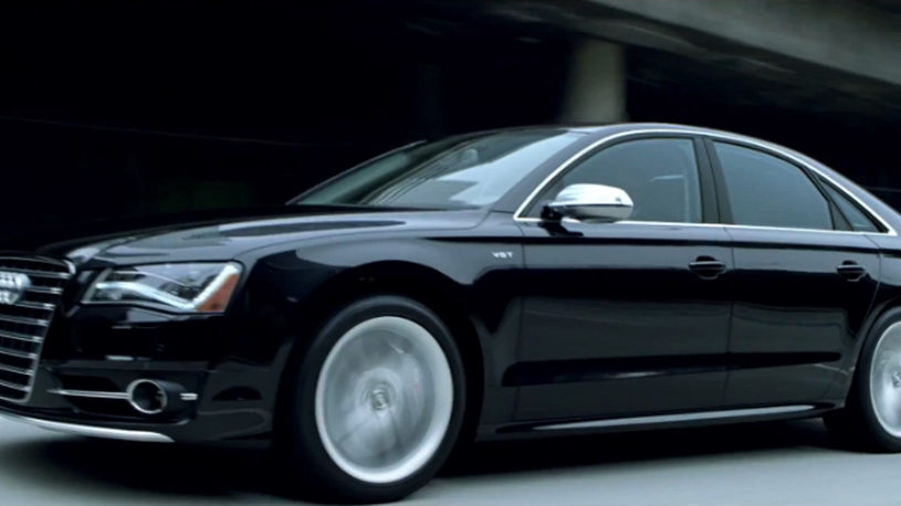 Audi's S8; perfect for both bank heists and coffee runs