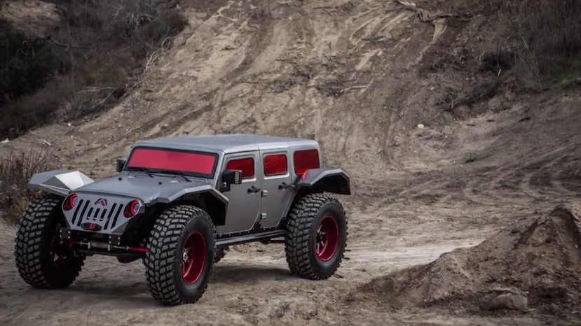 a15affffff4 Jay Leno Takes A Look At The Fab Fours Legend Jeep: Video
