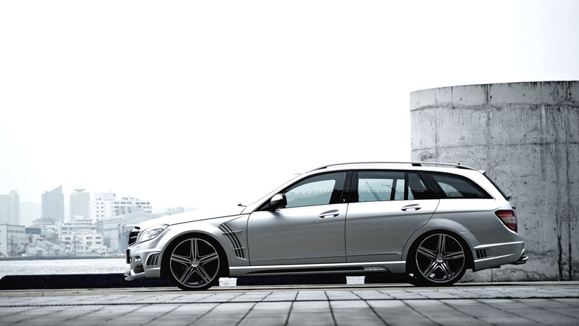 wald black bison mercedes c class estate 007