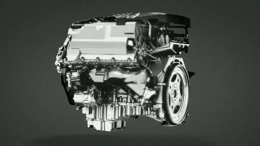 Jaguar's supercharged 3.0-iter V-6, to be used in the upcoming F-Type