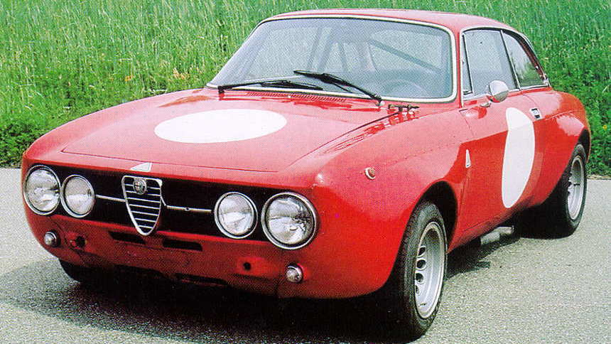 Vintage Alfa Romeo cars