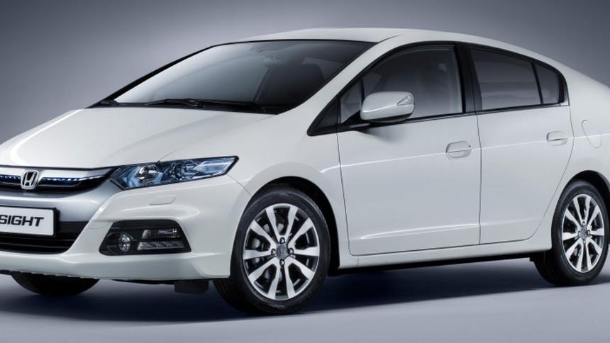 2012 Honda Insight - European market version to be shown at Frankfurt Motor Show