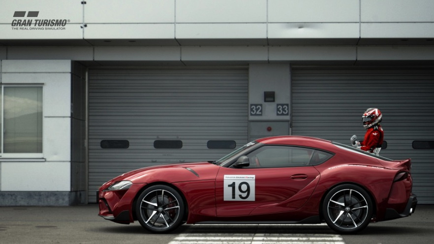 GR Supra GT Cup one-make race series for 2020 Toyota Supra in 'Gran Turismo Sport'