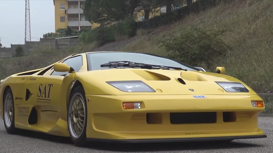This Is The Lamborghini Diablo Gt1 Stradale You Didn T Know Existed