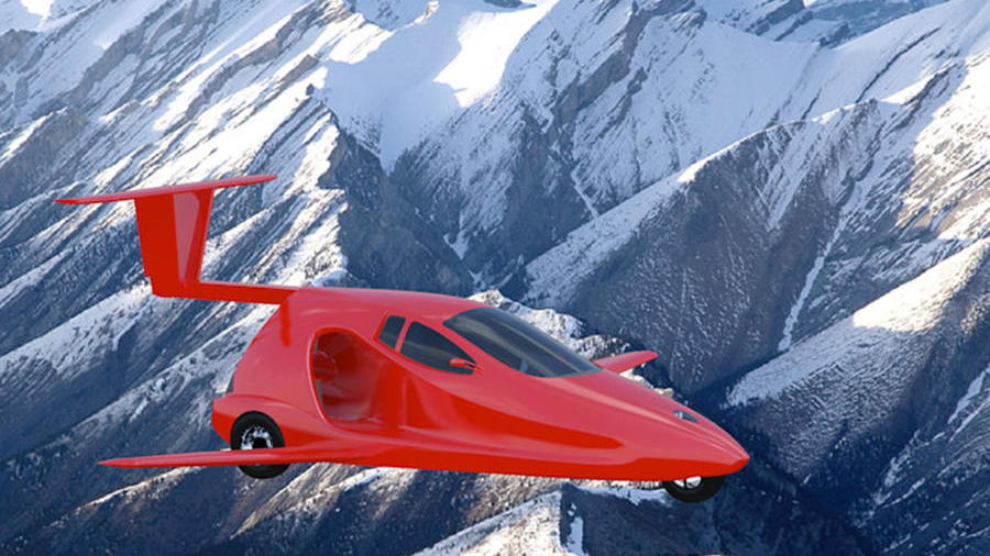 Samson Switchblade flying car