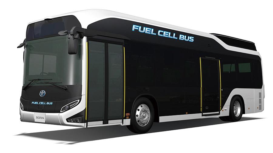 Toyota Sora fuel-cell bus
