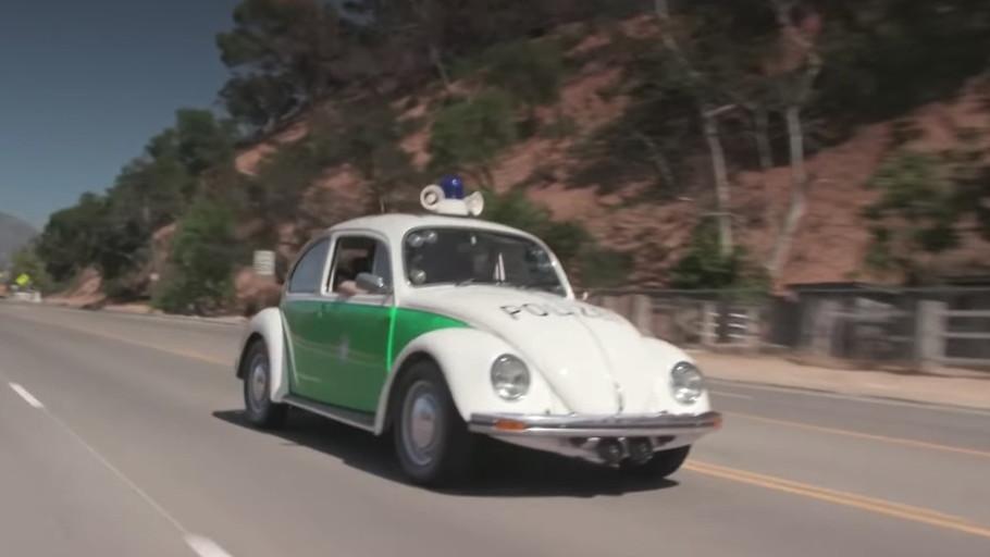 1979 VW Beetle Polizei on Jay Leno's Garage