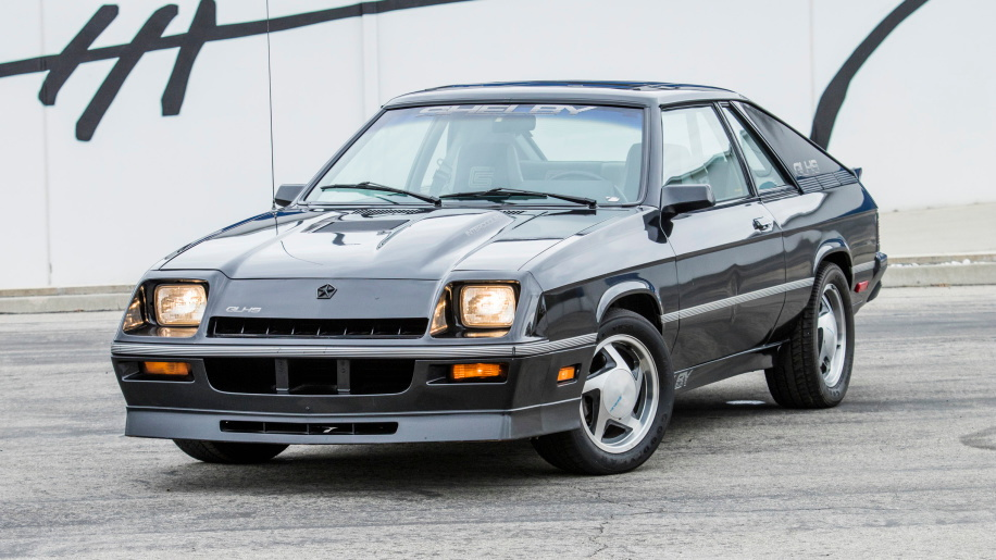 1987 Shelby Charger GLH-S Serial #1, part of Carroll Shelby car collection