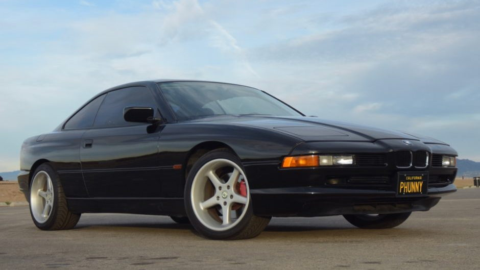 George Carlin's 1996 BMW 850Ci - Image via Bring A Trailer
