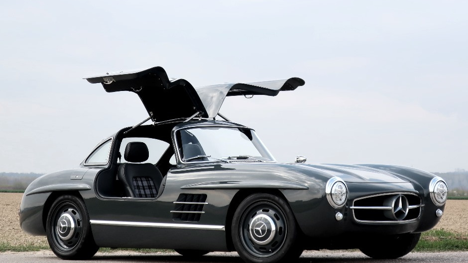 Mercedes-Benz 300SL Gullwing replica based on SLK-Class
