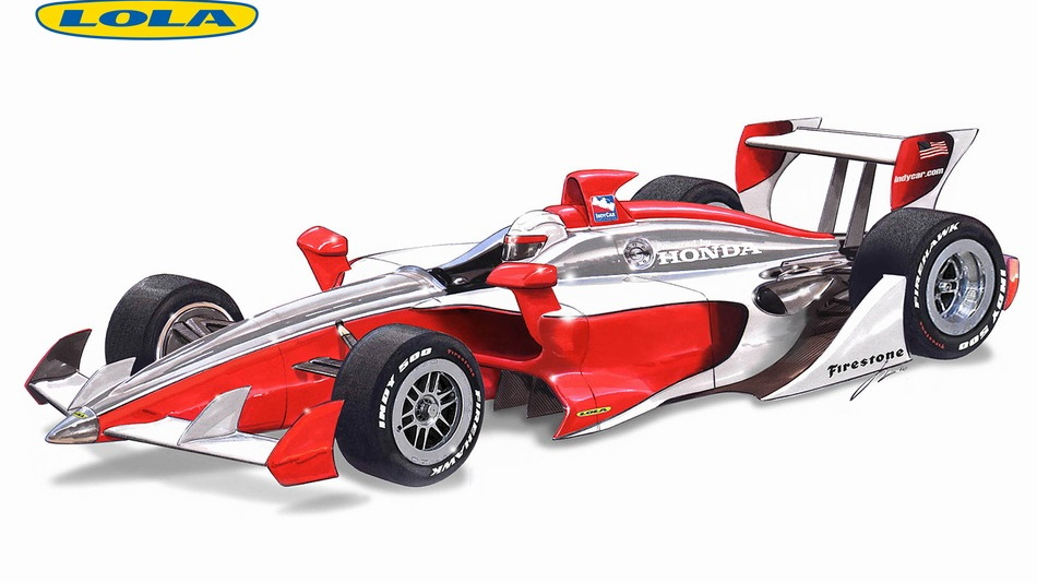 Lola 2012 IndyCar prototype proposal