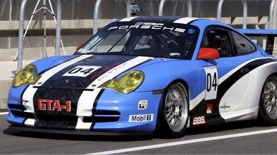 Luke Oxner will race this Porsche 911 GT3 Cup in 2014 PCA Enduro competition