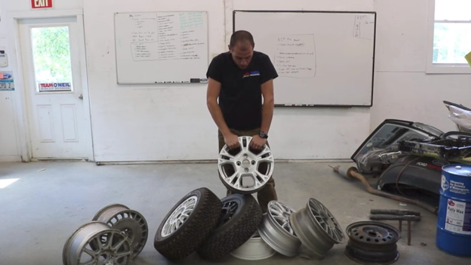 Team O'Neil Rally School gives a lesson in rally wheels