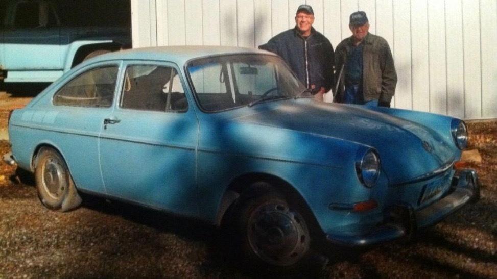 Son restores father's 1967 Volkswagen Type 3