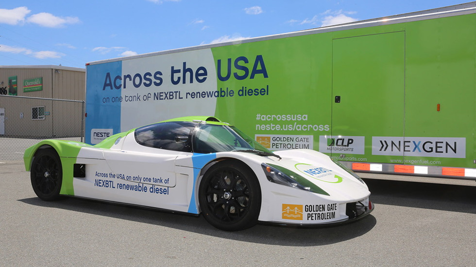 Neste renewable-diesel Superlite Coupe