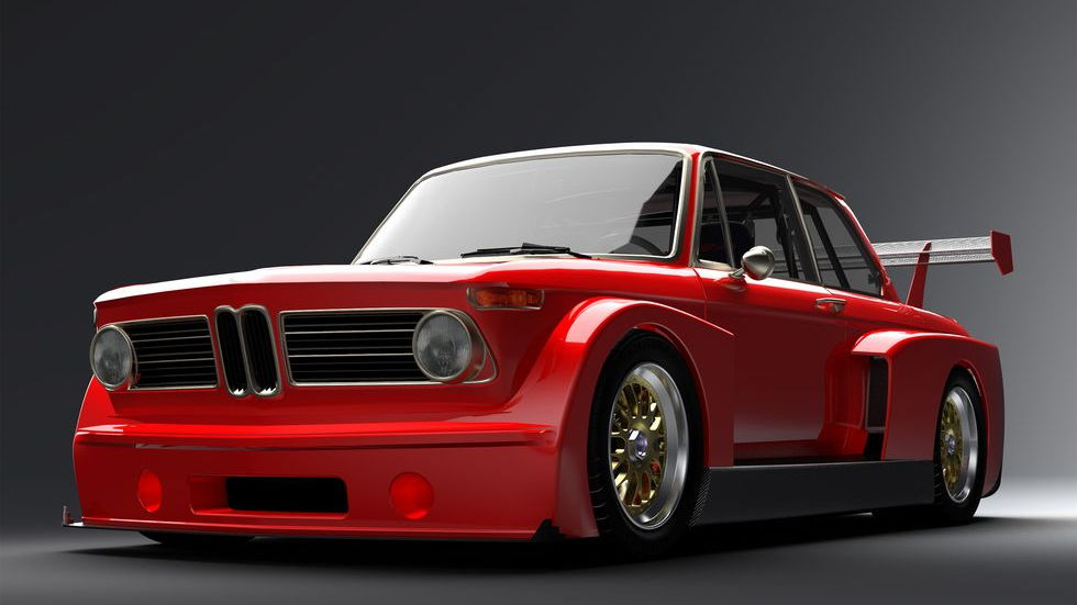 Gruppe5 Motorsport BMW 2002 with V-10 engine