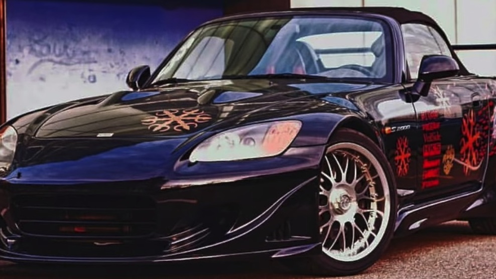 Honda S2000 from 'The Fast and the Furious'