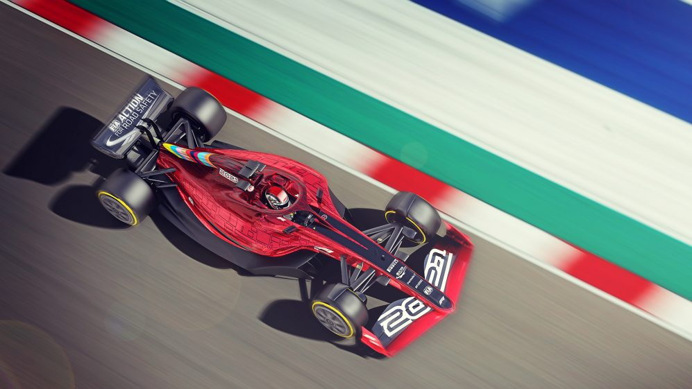 2022 Formula One race car design proposal