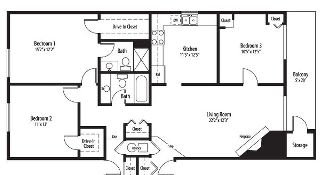 Bourbon Square Apartments 166 Reviews Page 2 Palatine Il