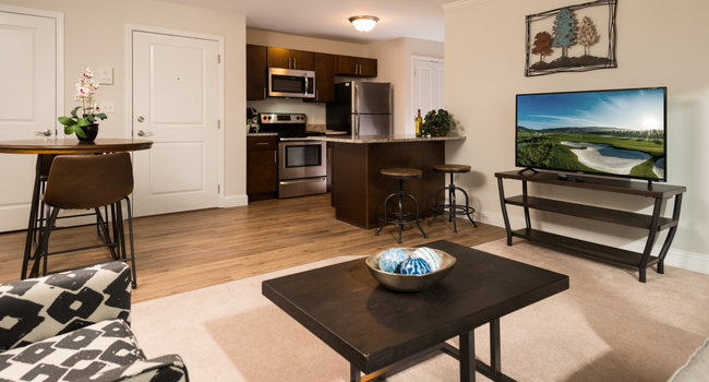 Open Floorplan Apartments With High-End Finishes