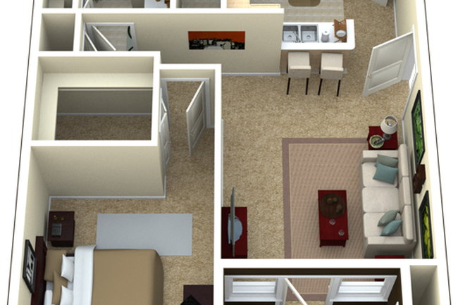 Floor Plan Photo Of Camden Buckingham In Richardson Tx