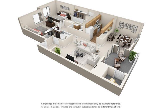 Floor Plan Photo Of Island Homestead Apartments In Bainbridge Wa